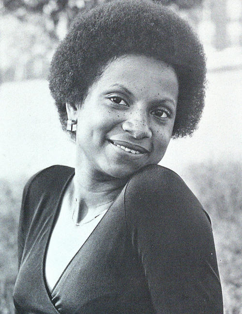 Portrait of Mary Bennett, named campus queen in 1978.