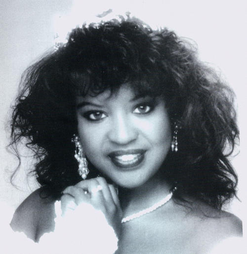 A portrait of Kimberly Fields, named campus queen in 1993., Digitized 2014-09 J. F. Drake Memorial LRC, Alabama A&M University.