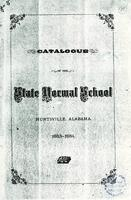 Catalogue of the State Normal School: Huntsville, Alabama : 1883-1884