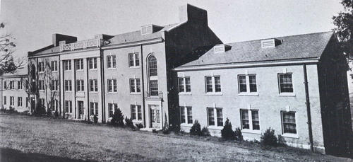 Photo of Councill Hall from 1919.